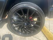 Gianelle 24 Inch Smoke Black Wheels And Tire Package
