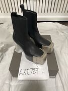 Rick Owens Kiss Boots With Grills Size 41 Or Us 8