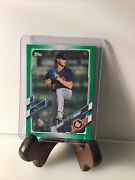 2021 Topps Pro Debut Green Shane Baz Bowling Green Hot Rods 38/99 Rays