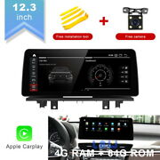 12.3 Ips Android Car Gps Stereo Navigation 8-core 4g For Bmw X1 F48 2018 Evo
