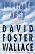 Infinite Jest A Novel By Wallace David Foste Hardcover Collectible - Very G