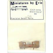 Ho Miniatures By Eric P2 -- Canadian National Snow Plow Brass -- Nib