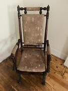 Lovely Victorian Spring Rocking Chair - Price Reduced