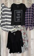 Torrid Size 1 Lot Of 4 Tops And 1 Hoodie So Soft