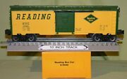 Lionel 6440 Reading Boxcar Made In Usa O/027 Ga. Fm 1981 Limited Edition Set