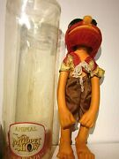 Very Rare Vtg Muppets Bendy Toys Figure Animal 1979 With Case