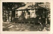 Rppc Boulder Junction,wi The Haven Camp Mil. Lodge Vilas County Wisconsin