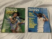 Tennis Magazine March 1978 And Tennis Annual '79 Magazines Lot