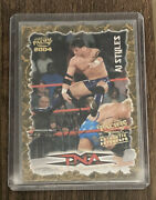 Aj Styles 2004 Pacific Tna Wrestling Authentic Autograph Rookie Card Wwe Aew