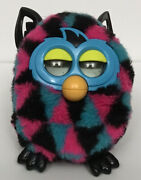 Furby Boom Talking Interactive Toy, 2012, Blue/pink/black, Tested, Works Great