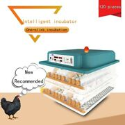 120 Eggs Big Egg Incubator Brooder Machine Fully Automatic Hatching Chicken New