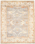 Hand-knotted Carpet 9and0394 X 11and0396 Royal Oushak Traditional Wool Rug