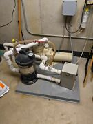 Hayward Pool Spa Or Hot Tub-- Pump Heater Filter And Ozone--complete Package