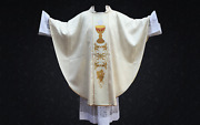 Gothic Chasuble Eucharistic Design Cup Of Life