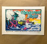 Widespread Panic Wilmington Locals Only Poster Jt Lucchesi Tom Shaw Signed 2021