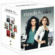 Rizzoli And Isles - The Complete Series Season 1-7 Box Set Dvd Brand New Sealed