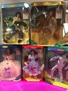 Lot Of 5 Wizard Of Oz Barbie Hollywood Legends Collection New In Boxes
