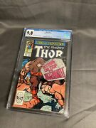 Thor 411 Marvel Comics Cgc 9.8 White Pages Dec 1989 1st App. Of New Warriors