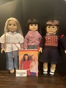 American Girl Doll Lot Julie, Ivy, Molly And Accessories Updated Shipping Price