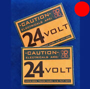 ✅ Dpcd 24 V Electrical Firewall Warning Label For Dodge Military Truck Plymouth
