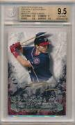 2016 Topps Tier One Breakout Autographs 1/1 Rc Gold Ink Trea Turner Bgs 9.5 E10