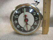 Vintage United Alarm Electric Clock Motor / Movement – Made In Usa
