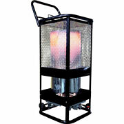 Radiant Heater - Lp Propane - Commercial - Portable - 125000 Btu 360andsect Heating