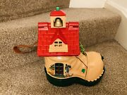Vintage Matchbox School Play Boot Shoe House 1983 With Accessories And Figures