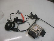 6. Ktm Rc 125 Is Abs Bj.14 Lock Sest With Key Cdi Control Unit Ignition Barrel