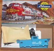 Athearn 5377 Wide Vision Caboose Kit Great Northern Gn X107 Blue