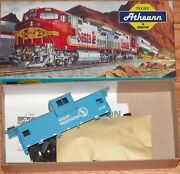 Athearn 5377 Wide Vision Caboose Kit Great Northern Gn X106 Blue