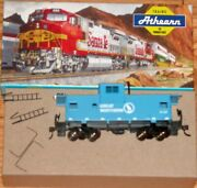 Athearn 5377 Wide Vision Caboose Great Northern Gn X107 Blue Built