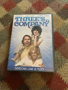 Threes Company - Season 1and2 Dvd 5-disc Set John Ritter. Suzanne Somers