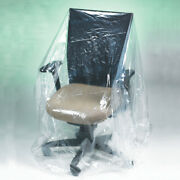 Furniture Covers 28 X 17 X 132 480 Perforated Covers Rolls, 1 Mil Clear