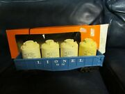 Lionel 6112 Air Activated Container Train With 3 Containers