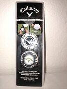 Callaway Poker Chip Dual Golf Ball Makers Brand New Unopened