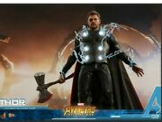 Hot Toys Mms474 Avengers Infinity War Thor 16 Figure Sealed Brown Shipper