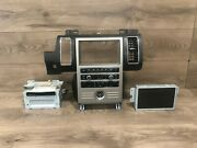 09-2012 Ford Flex Cd Navigation Map Screen Monitor Radio Stereo Climate Oem