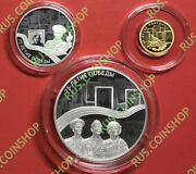 3+25+50 Roubles 2020 Russia 75th Anniversary Of The Victory Wwii Full Set Proof