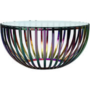 Moeand039s Home Collection Ot-1022-37 Prism Coffee Table Multicolor
