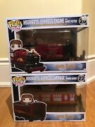 Harry Potter Hogwarts Express Engine Train 20 And Hermione 22 Lot Vaulted
