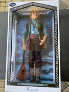 New Disney Store Frozen Kristoff 18 Limited Edition Collector Doll Le 1of 3500