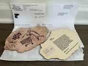 Banksy Peckham Rock Wooden Postcard Bristol Museum Authentic 🔥in-hand Fast Ship
