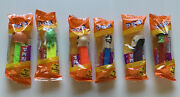 Vintage Pez Dispensers Halloween Lot Of 6 Factory Sealed - New In Package