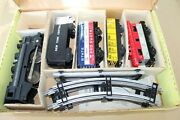 Vintage Sears Marx O Gauge No.9512 Steam Engine And Freight Car Set In Set Box Jb