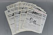 The Film Daily 1936 1937 Newspaper Magazines Lot Of 22 Movie Posters