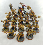 Warhammer 40k Age Of Sigmar Stormcast Eternals Army Mixed Figures - Excellent