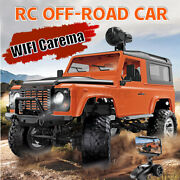 1/16 Rc Cars 2.4g 4wd Full Proportional Off Road Vehicle Model Wifi Camera Toys