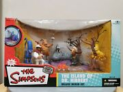 Mcfarlane The Simpsons The Island Of Dr. Hibbert Deluxe Boxed Set Thoh 2006
