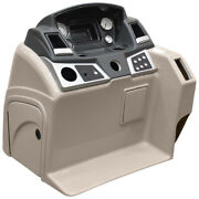 Ranger Pontoon Boat Steering Console   W/ Gauges Reata Taupe Tears